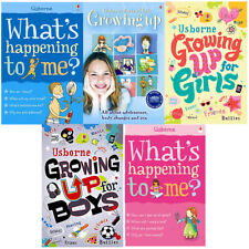 What's Happening To Me,Usborne Facts Of Life Growing Up 5 Books Collection Set