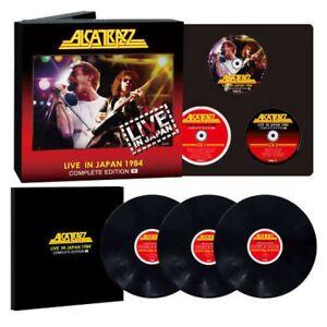 Alcatrazz Live in Japan '84 Complete Ed. BD CD LP Booklet Set FastShip Japan EMS
