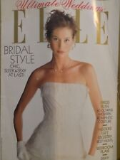Elle Magazine Bridal Style Dress Bliss 1990s 031318nonrh