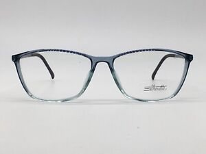 Silhouette Spx 1560 High End Blue Transparent New Collection 52-14 Small