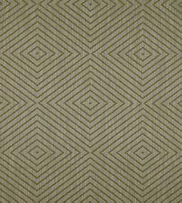 Jim Thompson Large Woven Diamond Upholstery Fabric- Makut / Moss 1.50 yd 3541/09