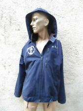 MARINE NATIONALE : VERITABLE BLOUSON DE MER BLEU  NAVY DECK JACKET VINTAGE