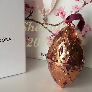 Genuine Pandora 2020 International Excl Christmas Ornament & Charm Set, BNIB