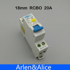 TOB3L-32F 18MM RCBO 20A 1P+N 6KA Residual current Circuit breaker