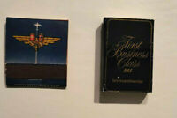 Vintage SAS AIRLINES Match Book and Match Box (Lot of 2)