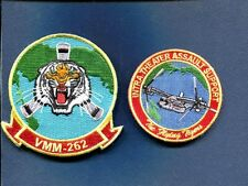 VMM-262 FLYING TIGERS USMC MARINE CORPS V-22 OSPREY Squadron Patch Set