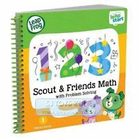 LeapFrog - LeapStart Scout & Friends Maths w/ Problem Solving Preschool Book