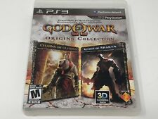 God of War: Origins Collection (Sony PlayStation 3, 2011) no manual