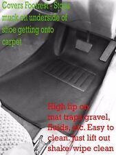 To suit Holden VU VX VY VZ Commodore Ute Moulded 3D Rubber Vinyl Car Floor Mats