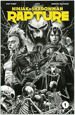 RAPTURE #1 1:50 MICO SUAYAN B&W SKETCH VARIANT FIRST PRINT VALIANT COMICS VEI NM