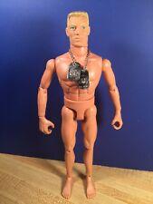 GI Joe Land Warrior Nude Body With Dog Tags - 1/6 Scale
