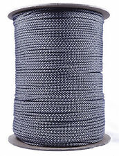 Silver Diamonds - 550 Paracord Rope 7 strand Parachute Cord - 1000 Foot Spool