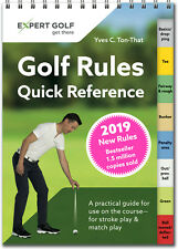 Golf Rules Quick Reference Pocket Guide Book W/ 2019 RULES by Yves C. Thon-That
