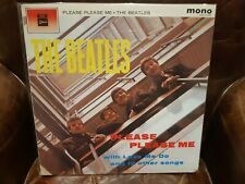 "Lp japan Beatles ""Please Please Me"".Red Wax, Mono. Vinilo y Carpeta NMint no obi"