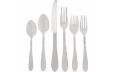 Lenox Derondo 74 Piece Flatware Set Service For 12 Stainless Steel 18/10 NEW
