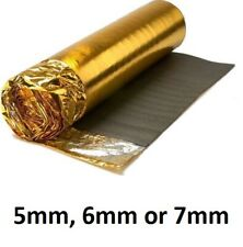 5mm , 6mm or 7mm Thick - Super Gold Underlay For Solid Wood or Laminate Flooring