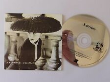 CD  Single KATERINE Comme JEANNIE LONGO PROMO 1679