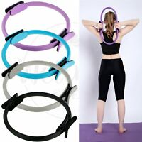 Dual Grip Pilates Ring Body Sport Fitness Magic Circle Weight Exercise Yoga Kit