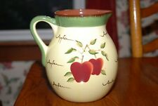 Home Interiors Apple Orchard Collection Large Water Pitcher 80 oz.