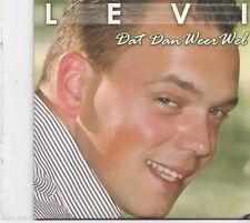 Levi-Dat Dan Weer Wel cd single
