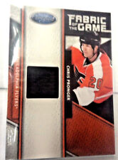 2011/12 PANINI CERTIFIED CHRIS PRONGER FABRIC GAME JERSEY 305/399