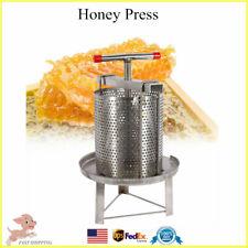 Honey Press Machine Steel Beekeeping Equipment Tools Honey Wax Press Machine USA