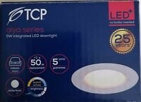 1-100 TCP LED Downlights 5w Warm White 68mm cutout UK Branded Stock From £2.30ea