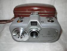 Vintage ZEISS IKON MOVIKON 8 Cine Camera Movitar 10mm/1.9 Lens + Filters + Case