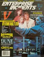 Enterprise Incidents Magazine December 1984 - Terminator - Starman - Gremlins