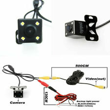170° Car Rear View 4LED Camera Night Vision Backup Camera Waterproof DIY