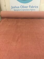 10m Job Lots Of Next, Elegant Velour, Rust, Upholstery Fabric, Free P&P
