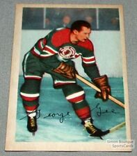 1953-54 Parkhurst Hockey Card #83 George Gee