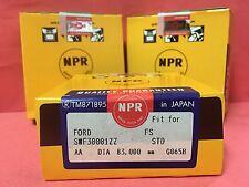 83MM STD NPR JAPAN PISTON RINGS MAZDA 626 MX6 PROTEGE 2.0L 93-03