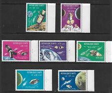 1969 - Haiti Apollo 7 & 8 / Outer Space 7 Stamps MNH Mi#HT 1072/3 & 1075/9