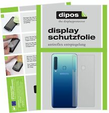 6x Samsung Galaxy A9 (2018) Rückseite Schutzfolie matt Displayschutzfolie Folie