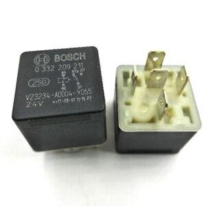 1Pc Bosch 0332209211 V23234-A0004-Y055 Mani Current Relay 24V 5 Pins