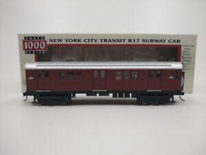 "Proto 1000 30021 HO ""Red Bird"" NYC Transit R17 Subway Car LN/Box"