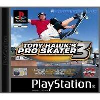 PS1 / Sony Playstation 1 Spiel - Tony Hawk's Pro Skater 3 mit OVP NEUWERTIG