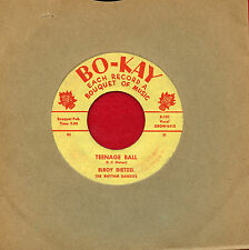 "ELROY DIETZEL ""Teenage Ball/Precious Desires"" Bokay 101 VG Rockabilly ORIGINAL"