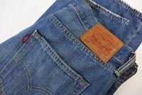 LEVI STRAUSS & CO. 501 Men's W32/L30 Straight Fit Fade Effect Jeans 31954-JS