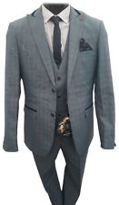Men's Check Regular Single Polyester Suits & Tailoring