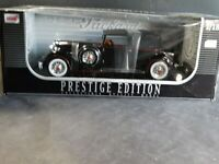 Anson 1934 Packard V-12 Victoria 1:18 Scale Diecast Car Prestige Edition Black