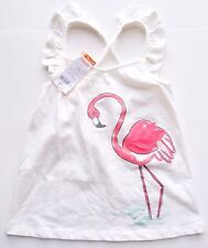 New Gymboree ruffle sleeve tank top girls size 7 pink flamingo