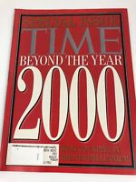 Time Magazine Vintage FALL 1992 Special Issue Beyond 2000 Millennium Predictions