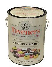 Liquorice Allsorts Taveners All Sorts In A Saving Money Box Tin Xmas Gift