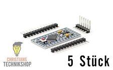 5x Arduino PRO Mini 3,3V Kompatibel ATmega 328 Board