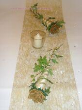 Tischdekoration für ca. 60 Pers. gold zur Hochzeit Tischdeko TD0057 Goldhochzeit