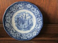 Cups & Saucers 1960-1979 Date Range Blue & White Transfer Ware Pottery