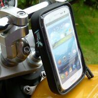 IPX4 Impermeable 13.3-14.7mm SPORTS Moto Tenedor Tallo Abrazadera Soporte Para