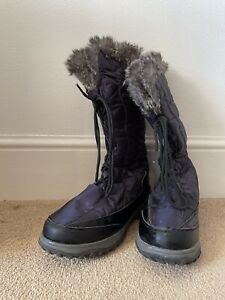 Mountain Warehouse Snowstorm Long Snow Boots Size 7 Waterproof